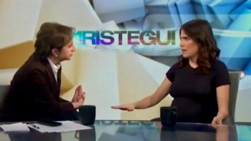 Carmen Aristegui entrevista a Karla Souza