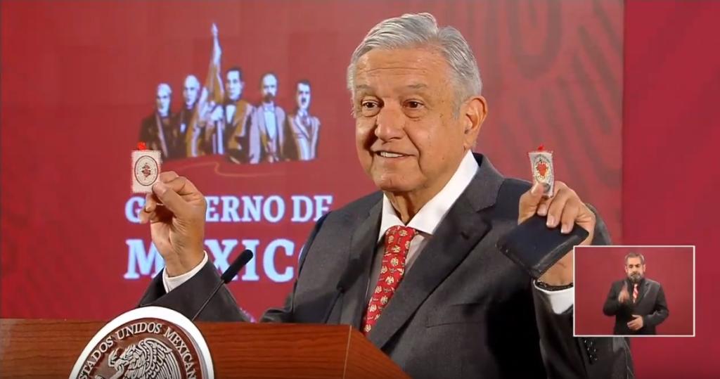 """El """"detente"""" del presidente López Obrador."""