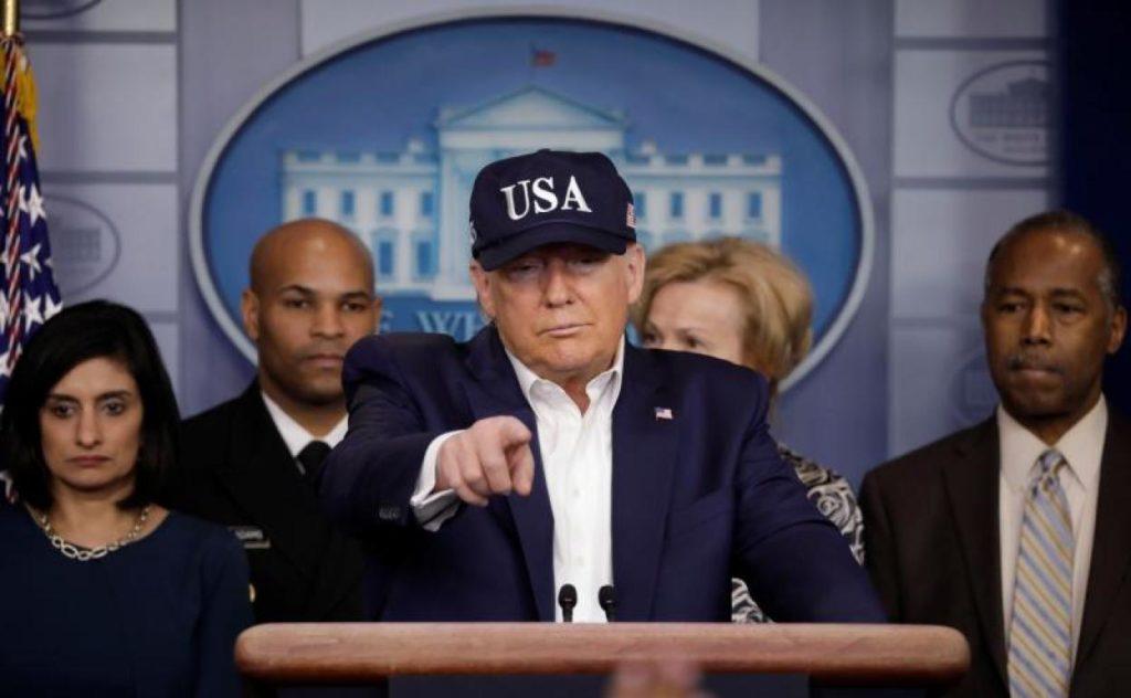 Trump llama a la unidad.