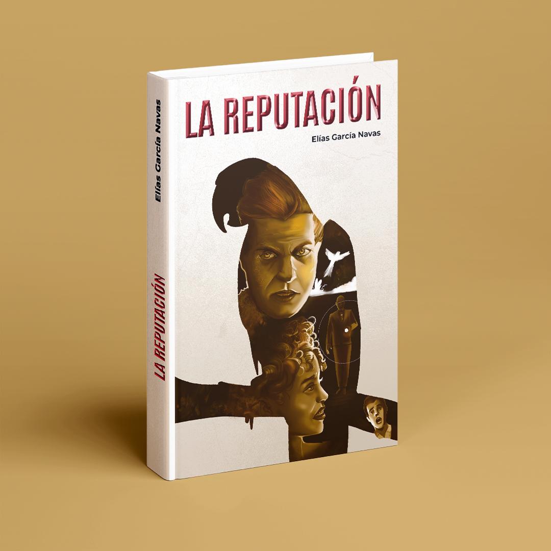 "portada de la novela ""La reputación"""